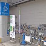 イーアスつくばのサイクルシェアリング専用駐車場