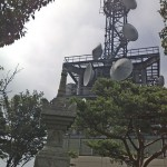宝篋山の頂上付近
