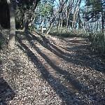 浅間山への登山道