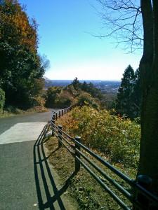 三ツ石森林公園から霞ヶ浦