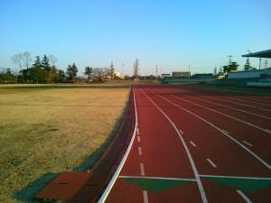 川口運動公園の陸上競技場